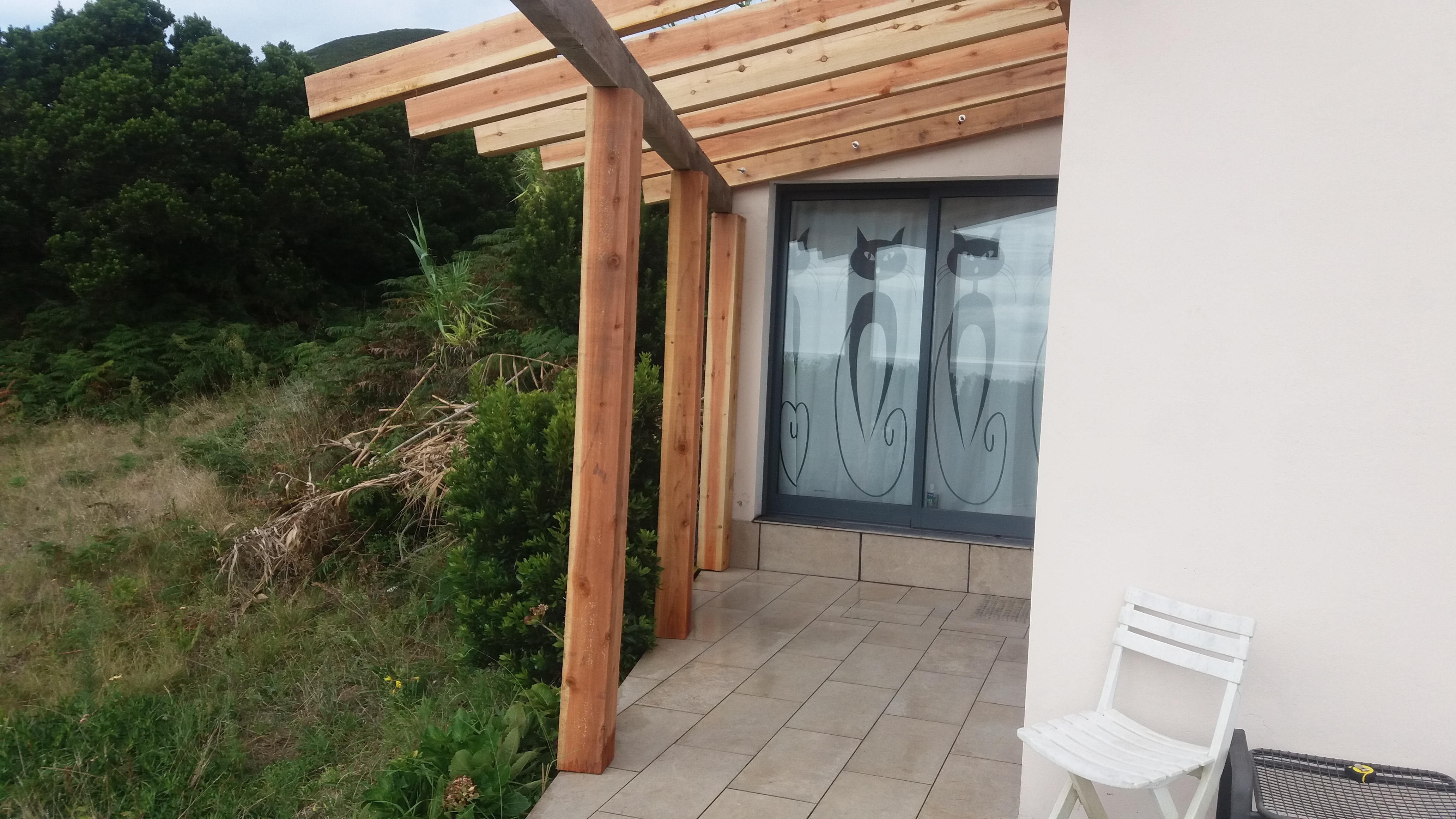 eine neues projekt wird gestartet ein wintergarten azoren blog. Black Bedroom Furniture Sets. Home Design Ideas